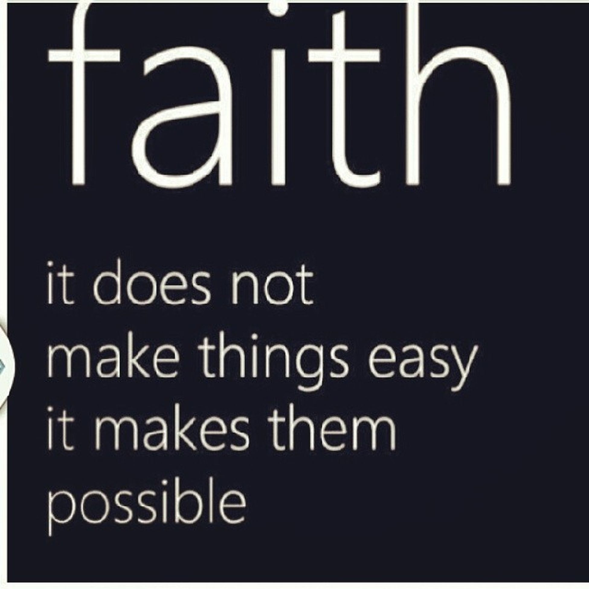 When you have FAITH in yourself you don't need others to believe in you- GodHasAPlAN FaithISKey