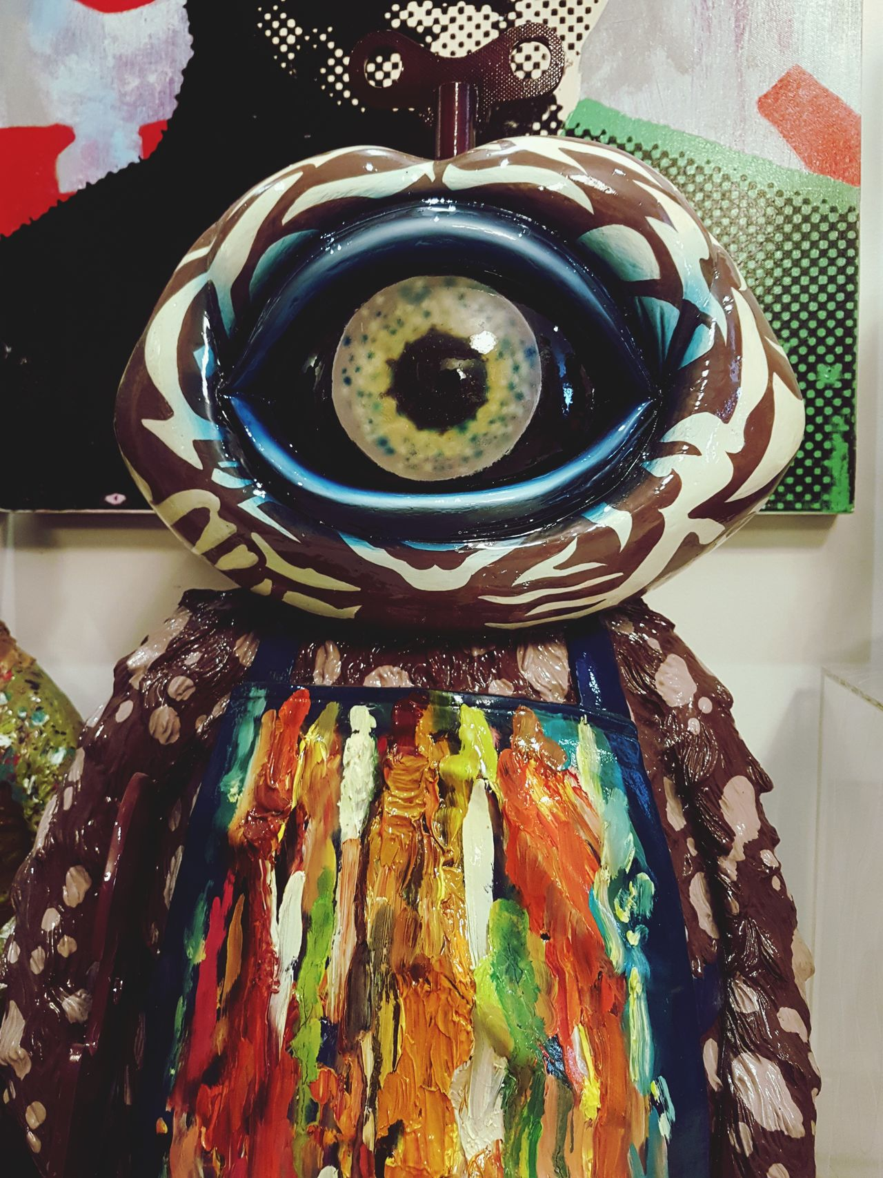 The Eye Eye One Eyed Monsta One Eye Art Sculpture Sculptures Passion Photo Monster Alien Toy Collection