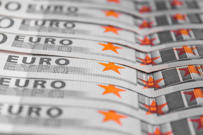 cash money euro / EUR Banking Business Capitalism Cash Close-up Credit Currency Dof Euro Europa Europe Finance Financial District  Grey Growth Income Macro No People Paper Currency Print Printing Rich Stars Tax Wealth