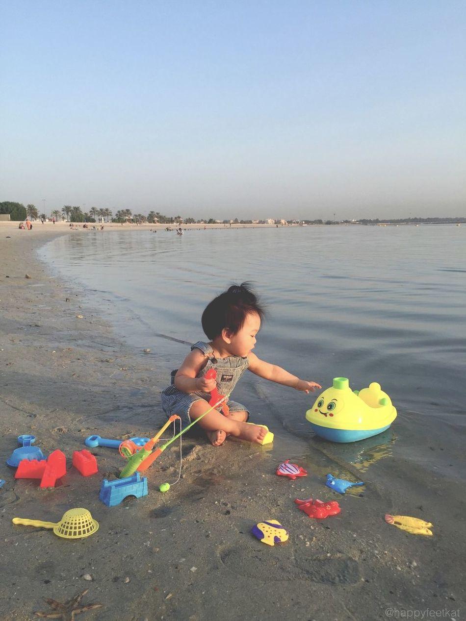 Baby love.💕 My Dubai Baby Morning Shoot Good Morning! Beach Soaked Today :) Cute Random