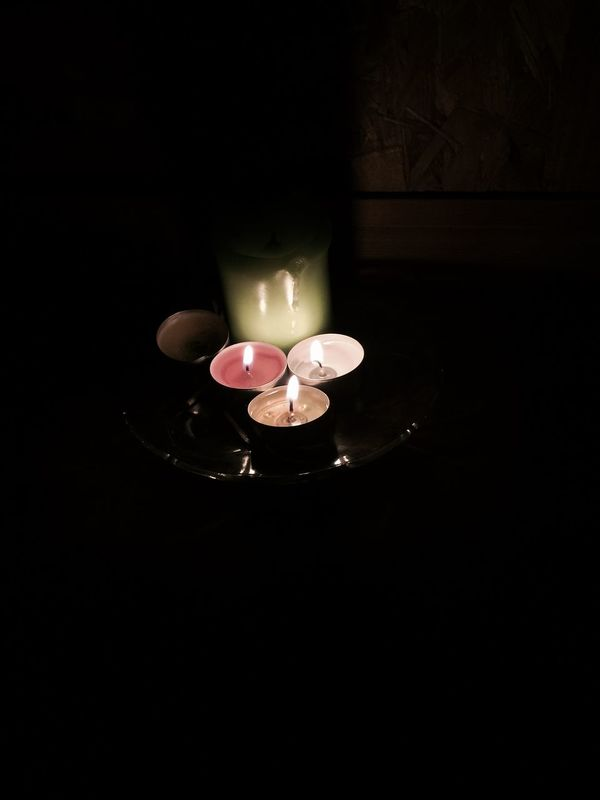 Candles Nightphotography Colors MyPhotography Iphonegraphy 📱💕 Relaxing
