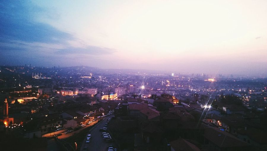 Kocatepecamii Anitkabir Gençlikparkı Ziraatbankasi Ankara Kalesinden Super Manzara Happy :) Nice