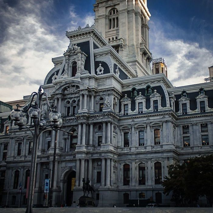 In heart of it Philadelphia Architecture Cityhall Citywalls