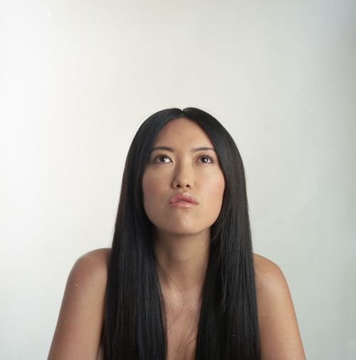 Rolleiflex Kodak Portra Eye4photography  Portrait Portrait Of A Woman