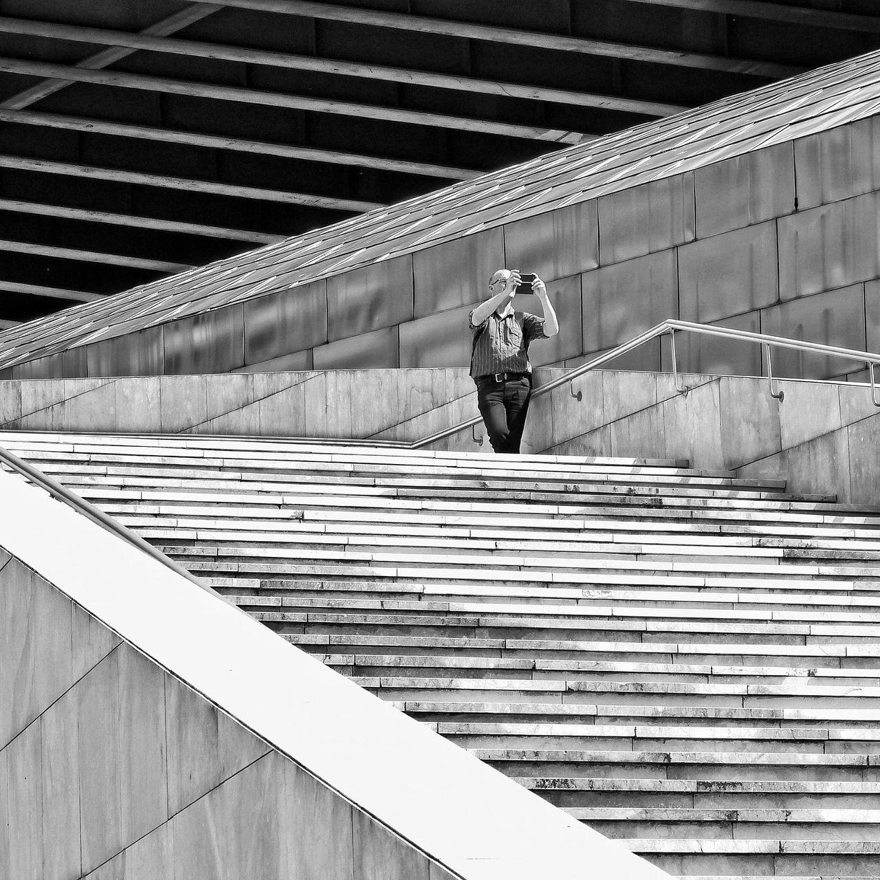 Architecture Blackandwhite People Bilbao Streetphotography Streetphoto_bw Stairs
