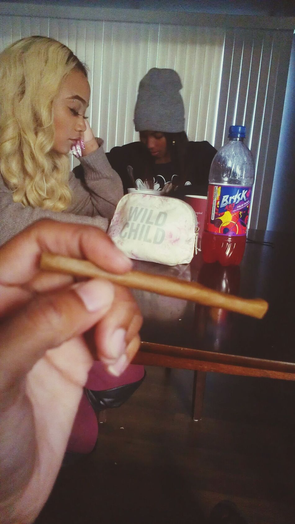 the blunt is nice . I <3 Mary Jane  Shaded Blunt Anyone?