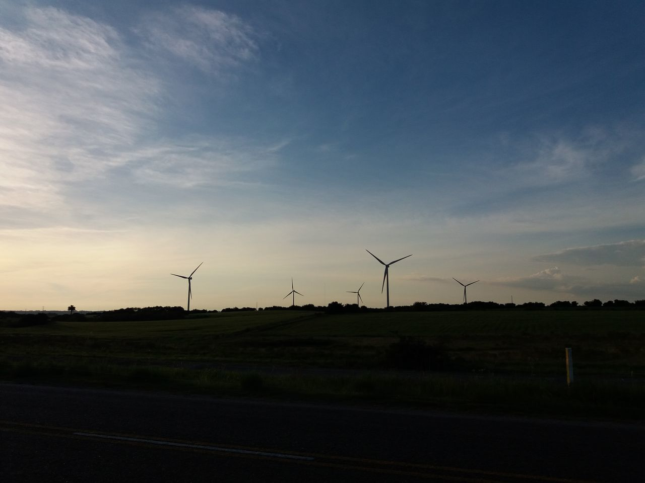 Sunset Environmental Conservation Dramatic Sky Sky Wind Power Wind Turbine Outdoors No People Alternative Energy Windmill Social Issues Business Finance And Industry Nature Technology Day Uruguay