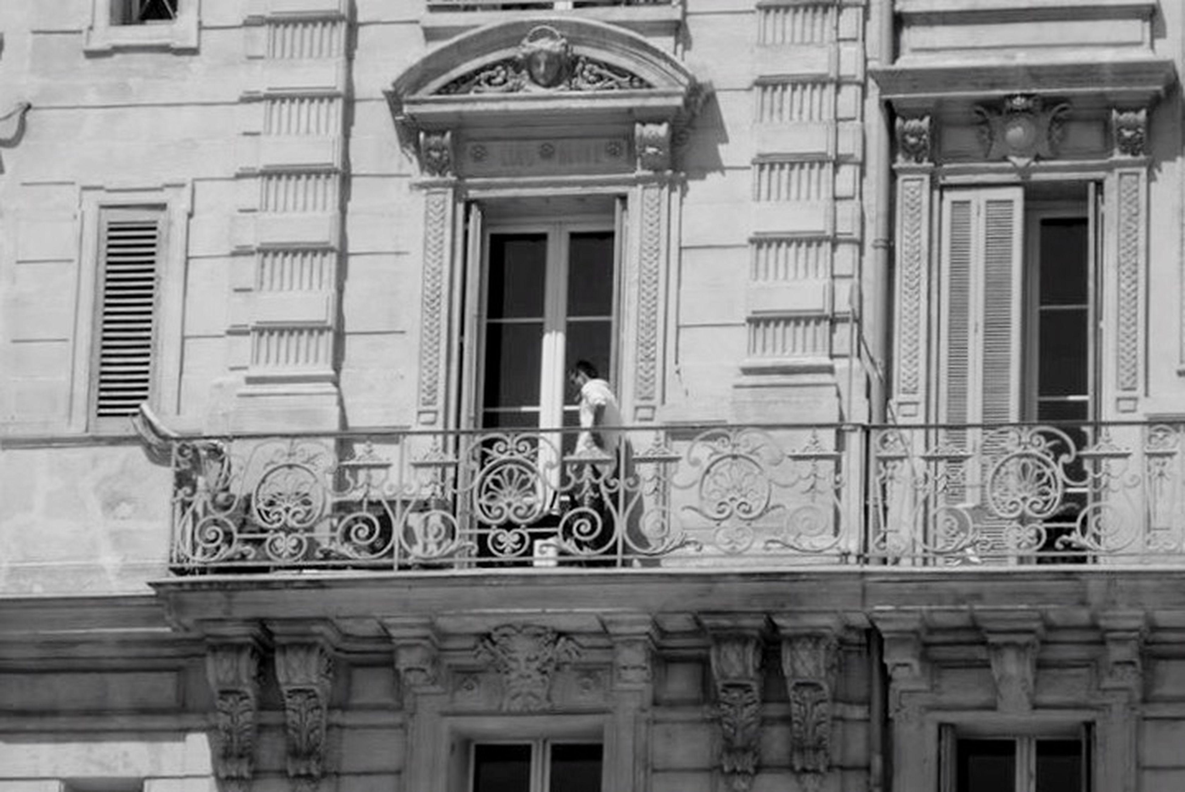 Blackandwhite Monochrome Streetphotography Architecture Balcony