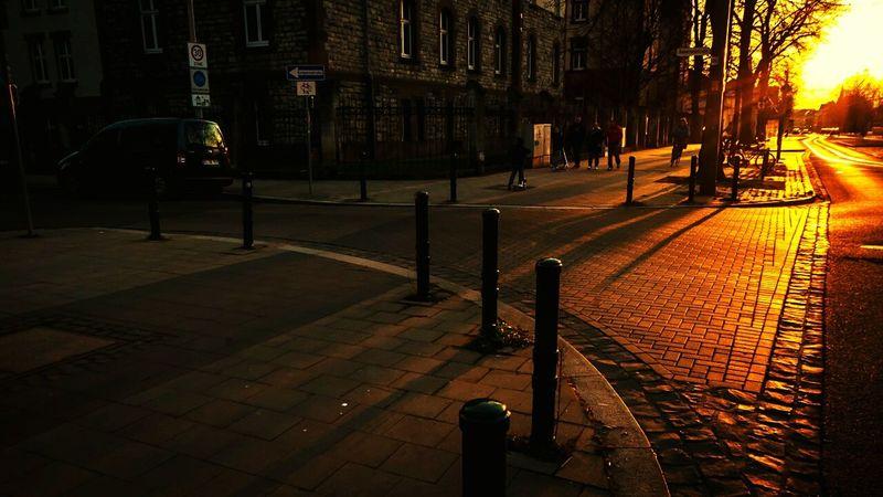 Goldene Stunde Sunset_collection Sunset Silhouettes Sunset Street Photography Light And Shadow Brunswick Braunschweig
