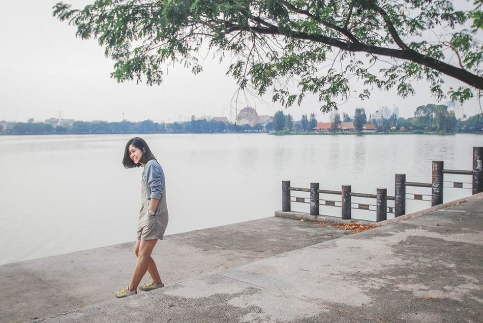 OpenEdit Enjoying Life Girl Thailand GoodTimes Cheese! Moments บึงแก่นนคร Khonkean ระหว่างทาง