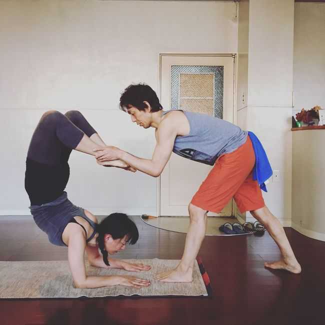 Yoga space Siddhi mysore class Yoga Space Siddhi Ashtangayoga Mysore Class Mysore Backbend Yoga 広島