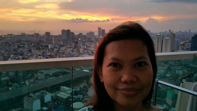 Enjoying The View Selfiesunday Sunset Skylovers