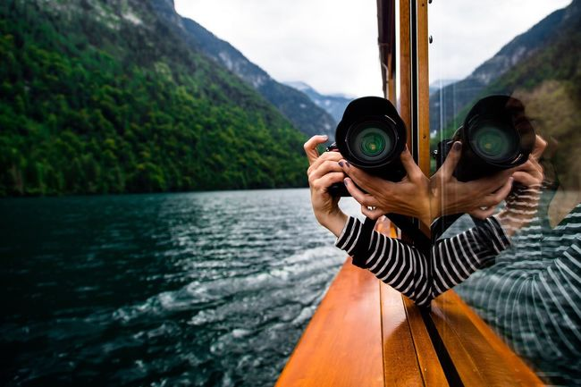 Schroedingers Cat | shot with Canon The Great Outdoors - 2016 EyeEm Awards Tranquil Scene Scenics Outdoors Mountain Beauty In Nature EyeEm Nature Lover Taking Photos Leisure Activity The Photojournalist - 2016 EyeEm Awards Green Nature Reflection Photography Photographer Photoshoot Travel Photography Tranquility Travelling Travel Boat Ship Wood - Material Portrait Of A Woman The Portraitist - 2016 EyeEm Awards