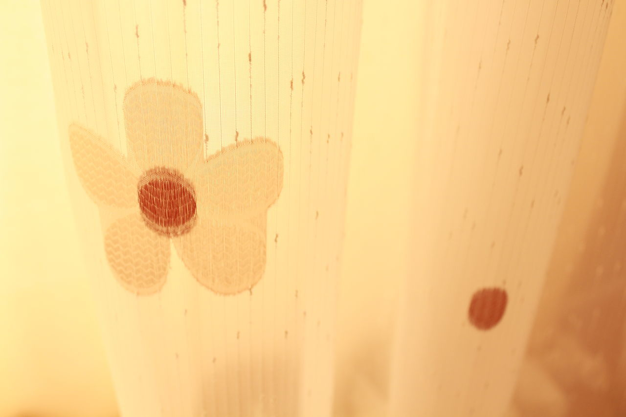 Indoors  No People Textured  Close-up Day Curtain Flower Patterns Shapes Macro Photography Textures And Surfaces HD Canonphotography Close Up Macro Beatiful Patterns & Textures Warm Colors Textile Fabrics Materials Effect Patterns Flowers