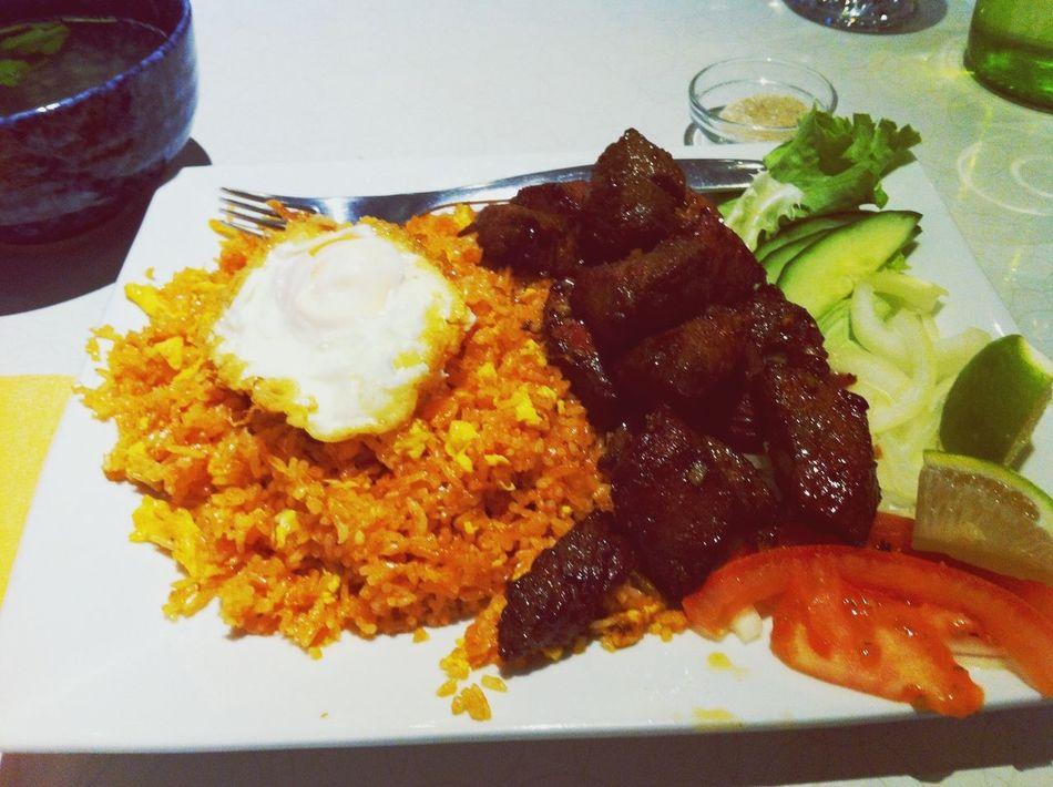 Eating Vietnamese Food Food Vietnamese