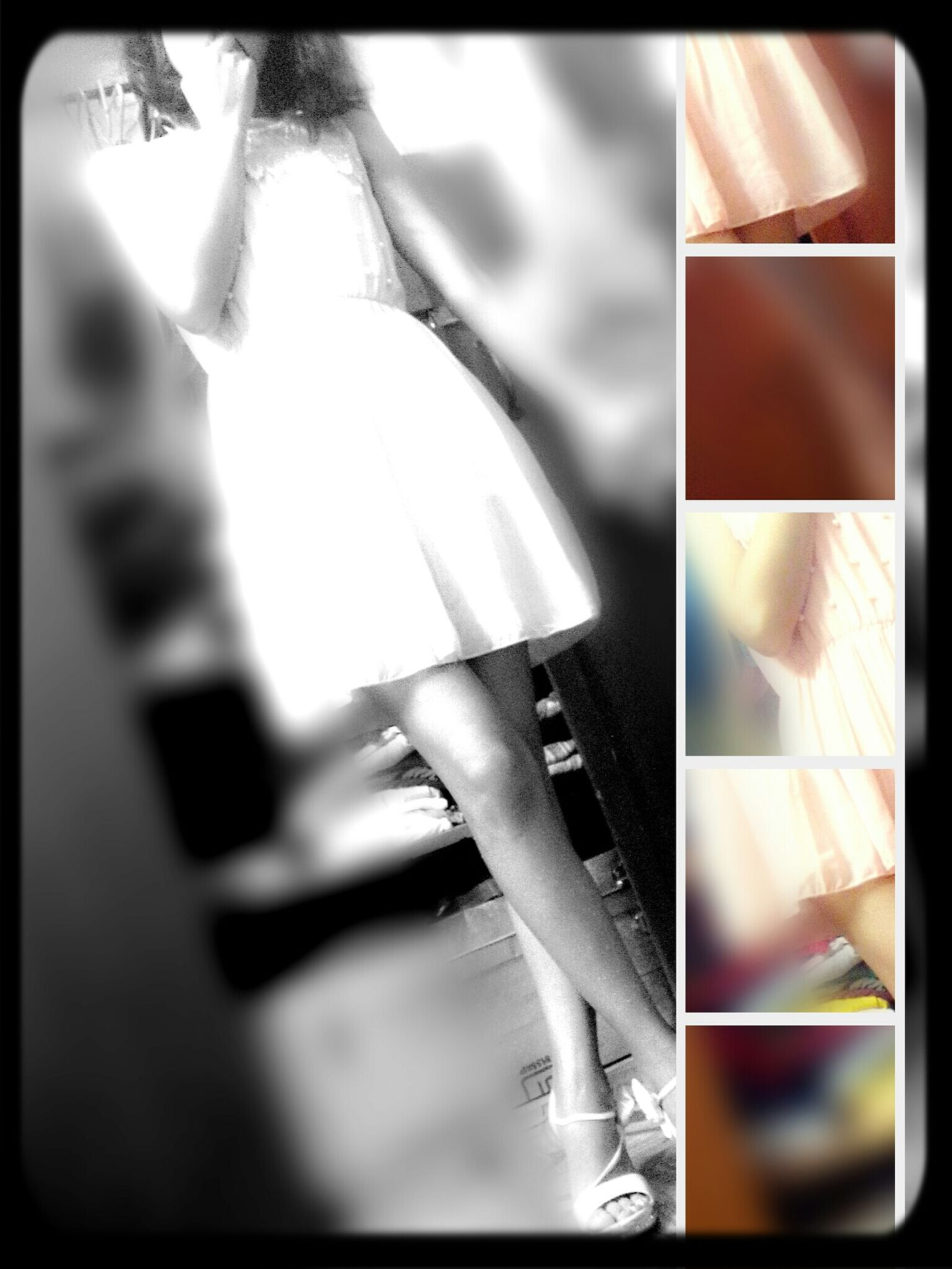 Time Pass  Dress Up Black & White