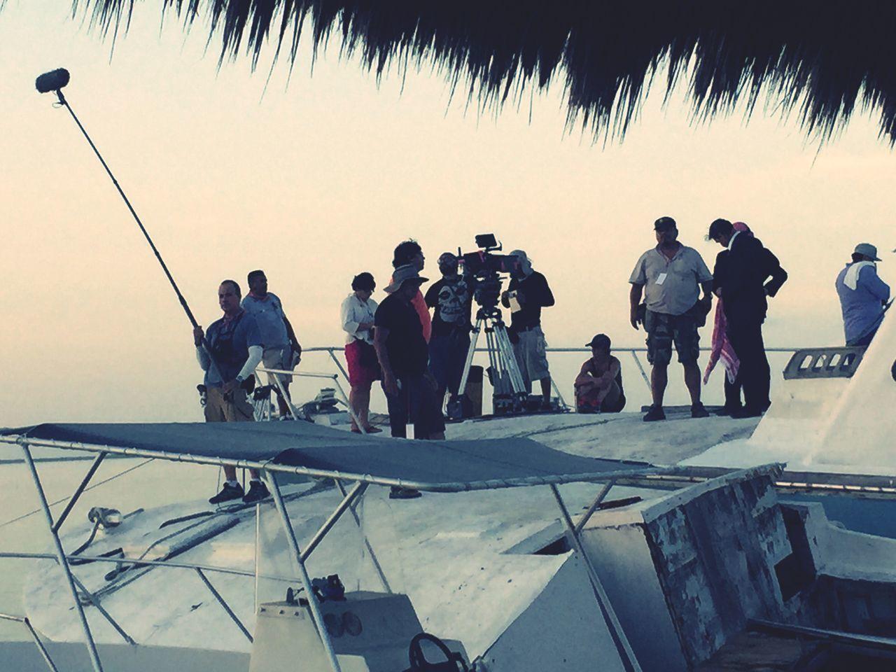 Room Tone Filming On Set