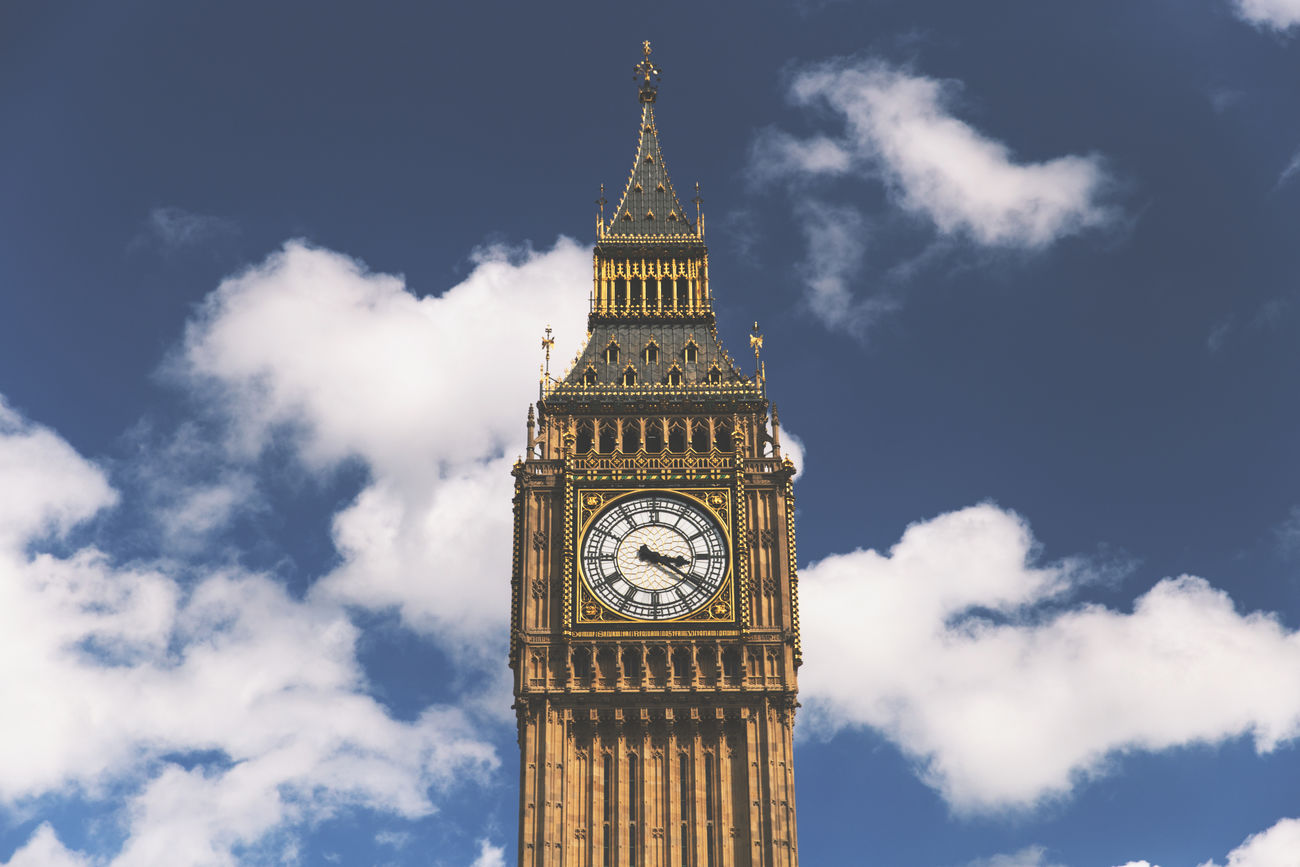 Big Ben, London Architecture Big Ben Blue Sky City Clock Clock Tower Clouds Government London Sky Time Tourism Tower Travel Destinations Westminster