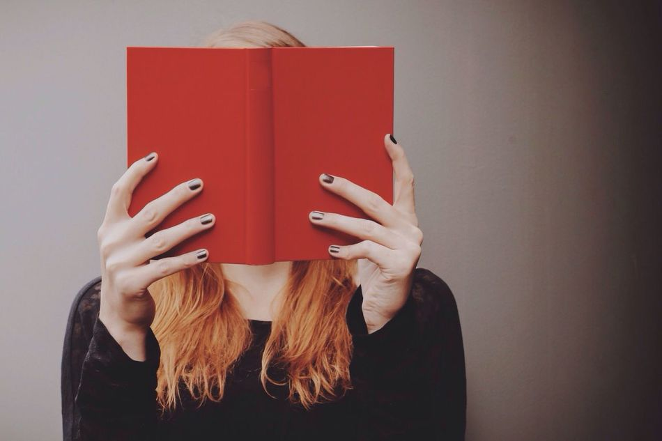 Beautiful stock photos of books, Blond Hair, Book, Concentration, Covering