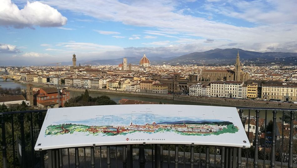 What A Wonderful World Cityscape Landscape Florence Italy