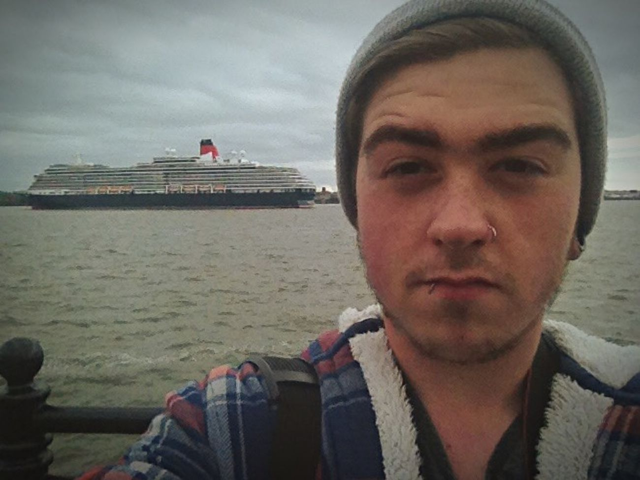 Liverpool Selfie Ship Three Queens Self Portrait