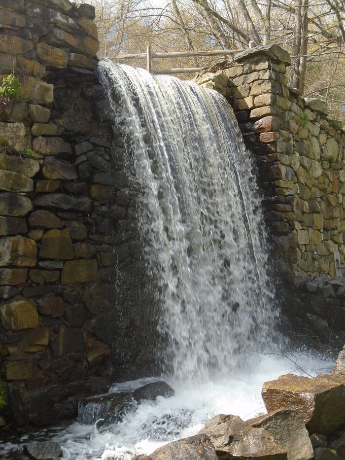 Dam Day Hydroelectric Power Motion Nature No People Outdoors Water Waterfall