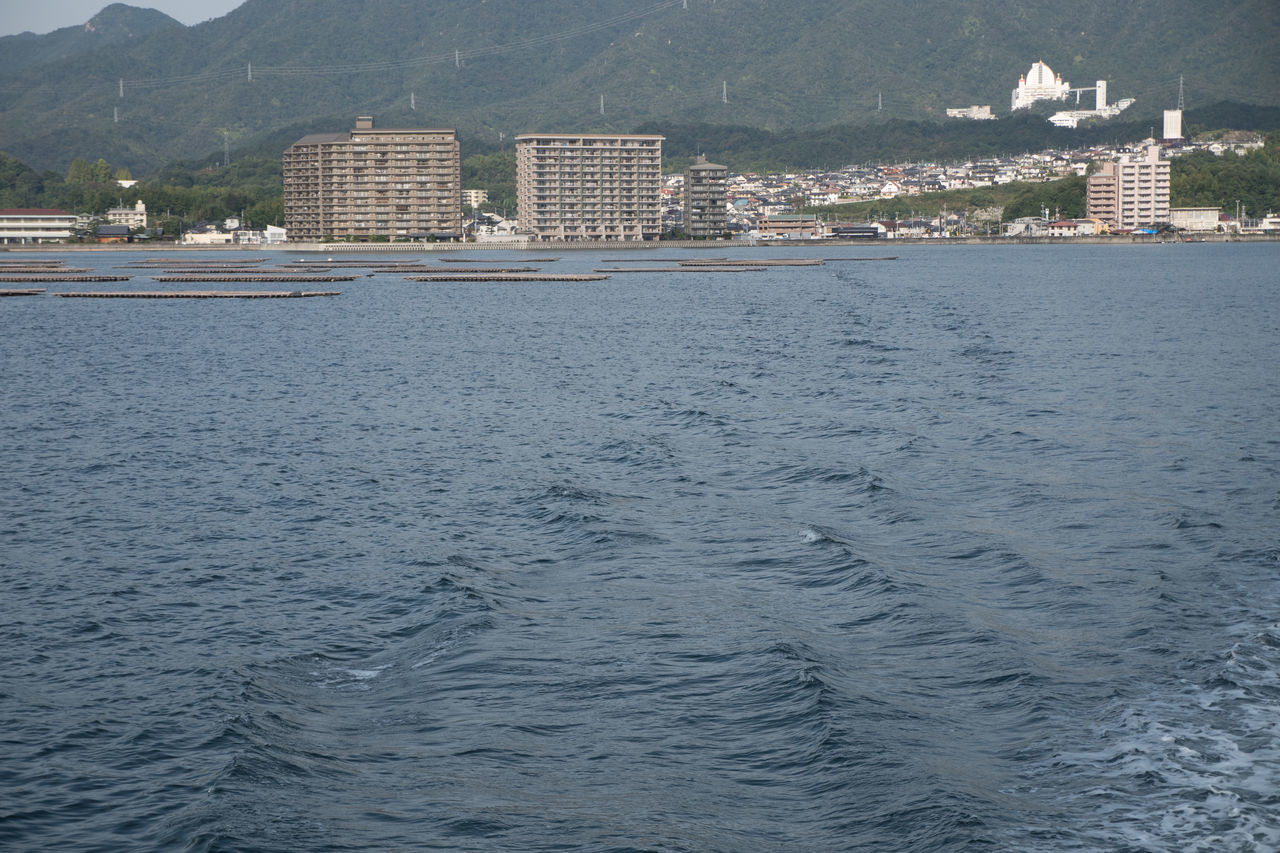 Architecture City Countryside Day Hiroshima Hiroshima -Miyajima Hiroshima,japan Miyajima No People Sea Water