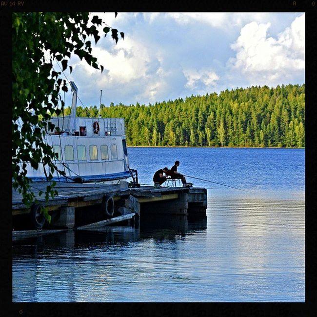 Winaspaholiday Finland Saimaa Fishing lake nature Europe рыбалка Финляндия Саймаа озеро природа