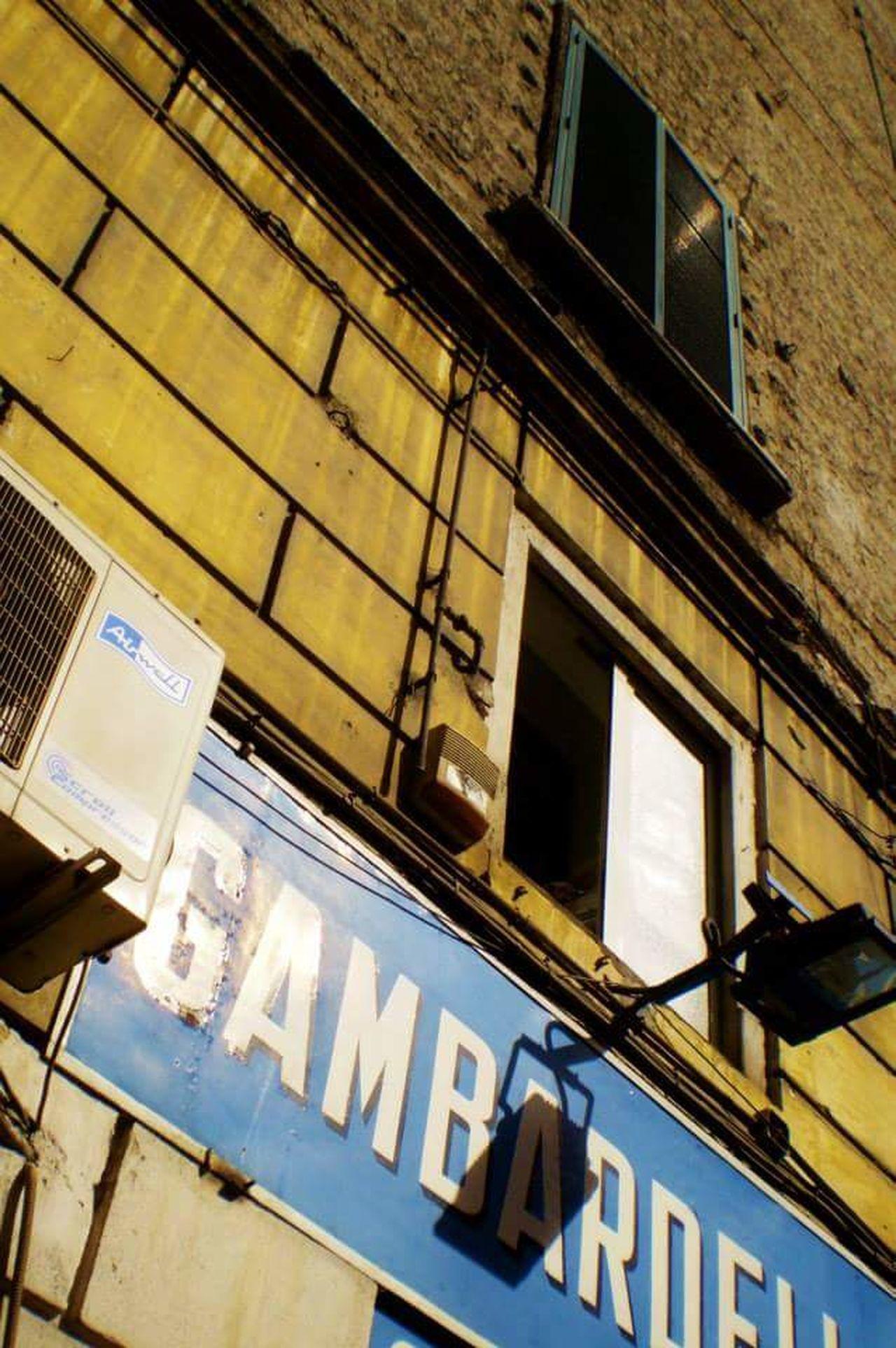 Naples, Italy Napoli Napoli ❤ Napoli Street Napoli Italy Architecture Prospective Light Shadow City Light And Shadow Wall