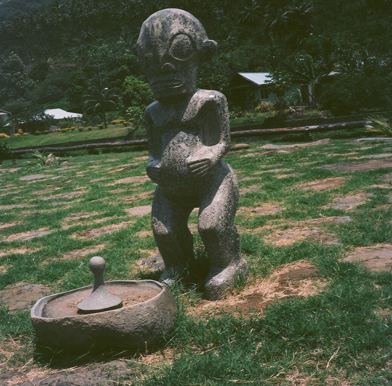 Tiki God Tahiti Tiki Temple Nuku Hiva