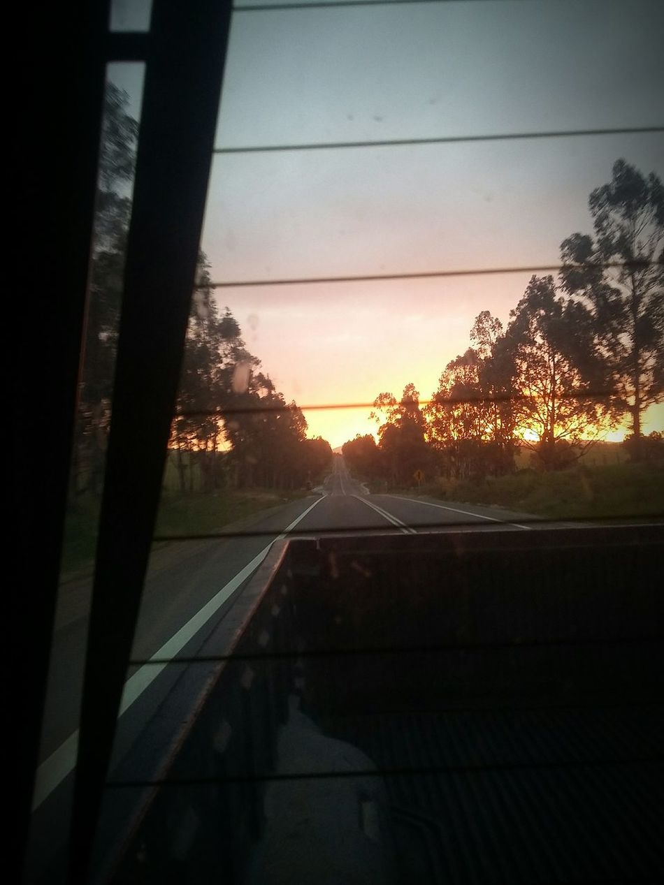 We're taking the long way home... Chile Chilena Chilepaisajes Sunset Skylovers Road Ontheroad Sunshine Beautiful Sunset Valparaiso, Chile LongWaysFromHome Home Car Red Mahindra Ontheway Onthestreet Onthewayhome