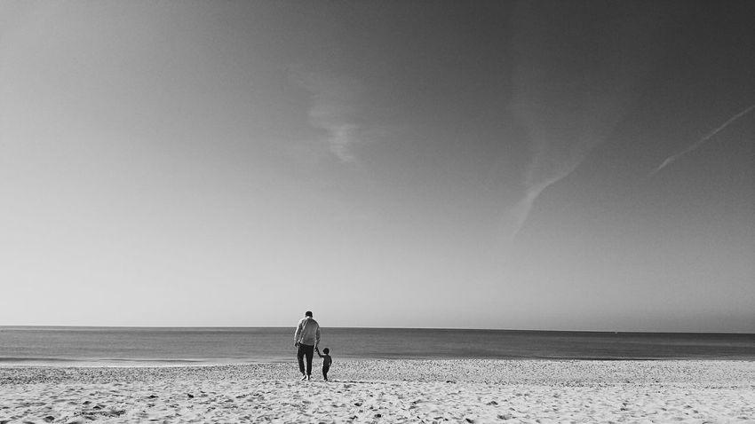 With my little-big heart Beach Son Father & Son Father Fatherlove Cadiz Playa Padre First Eyeem Photo