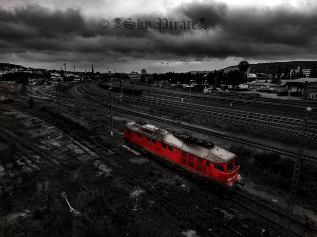 TakeoverContrast Railroad Track Train Train Tracks Train Station Trainphotography Train_of_our_world