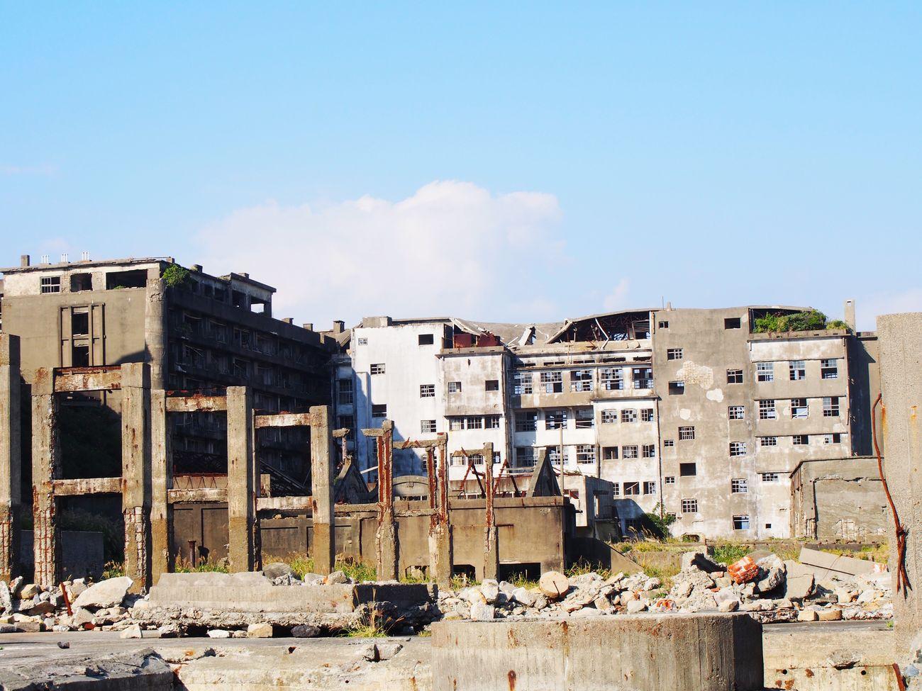 Nagasaki JAPAN 長崎 軍艦島(gunkan-jima)