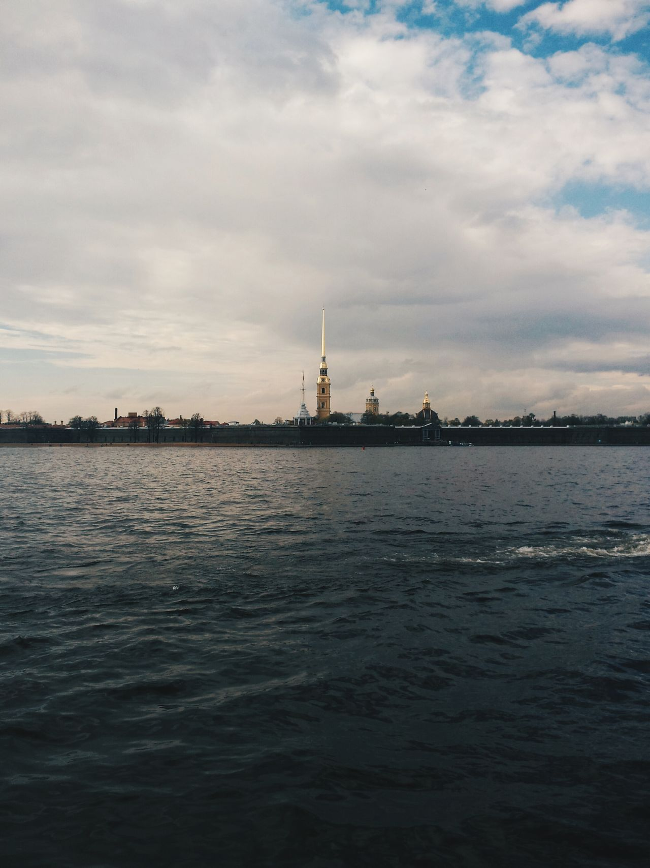 Building Exterior City Saint Petersburg Saint-Petersburg Cityscape Architecture Neva River Neva River Outdoors Water Sky And Clouds No People Petropavlovskayafortress Petropavlovsaya Fortress Petropavlovsky Krepost Petropavlovskaya Forteca The Architect - 2017 EyeEm Awards