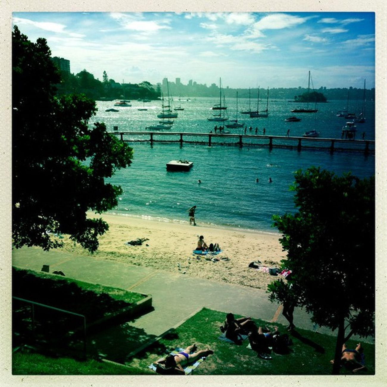 I think I've found my new favourite ocean swim, Murray Rose Pool! Hipstamatic Johns Inas1982