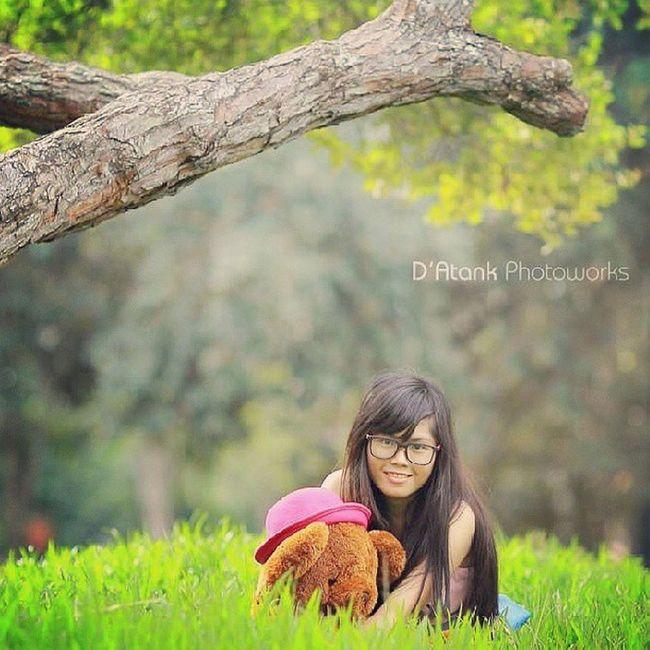 Me n my teddy Fashion Model Modelling Tanjungtabalong Instabanjar
