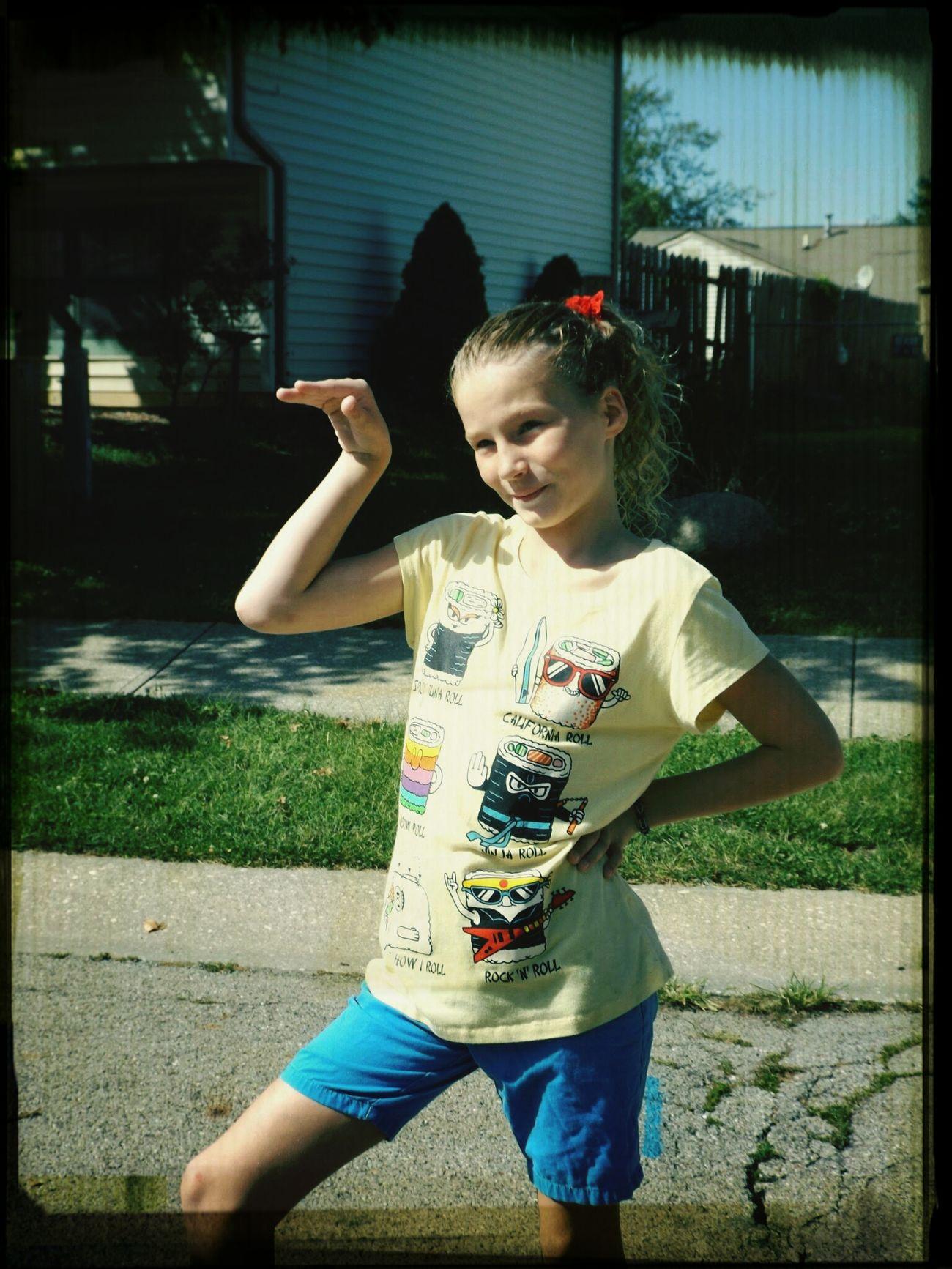 Neighborhood Fun Kids Being Kids Enjoying Life