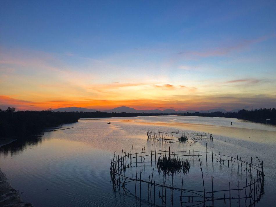 EyeEmNewHere View Sunset Fernweh Travel Photography Travel Destinations Travel Holiday Sea near Hoi An , Vietnam