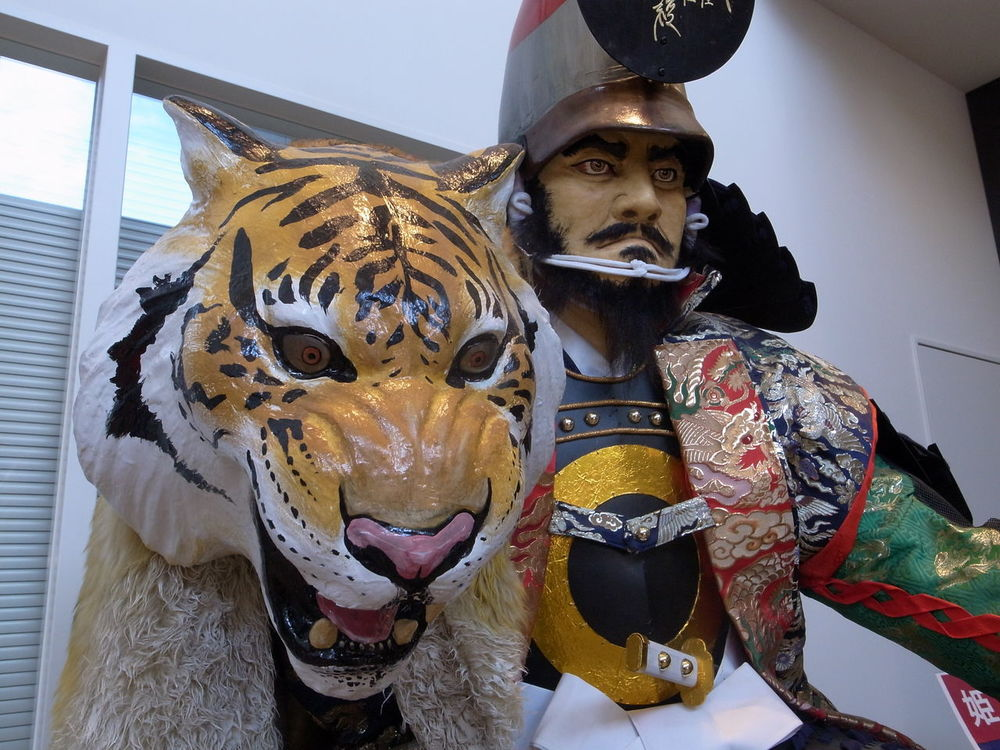 加藤清正 Manequin Japanese Armor Yoroi Tiger Japanese Culture Old Style Costume One Man Only One Person Kumamoto Travel Photography From My Point Of View 熊本 旅写真