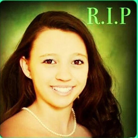We love you baby girl...fly high