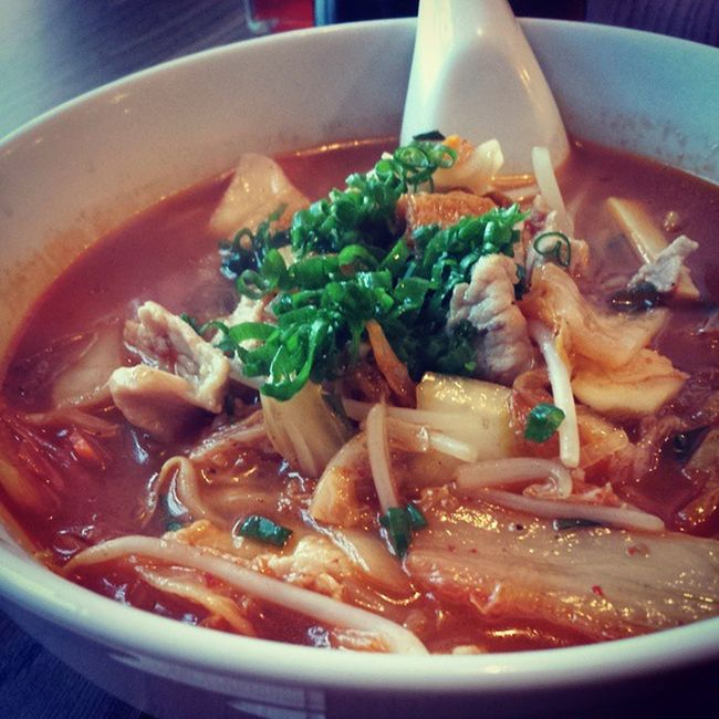 Kimchi Ramen for dinner. Maybe I was Korean in my pastlife. RVAfood