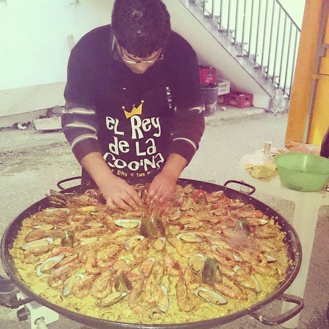 El Rey de la cocina 😉 Paella Paelha