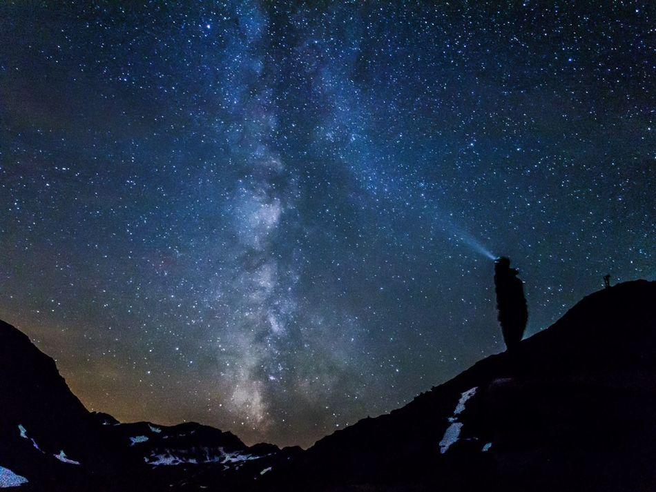 Beautiful stock photos of stars, Beauty In Nature, Idyllic, Illuminated, Low Angle View