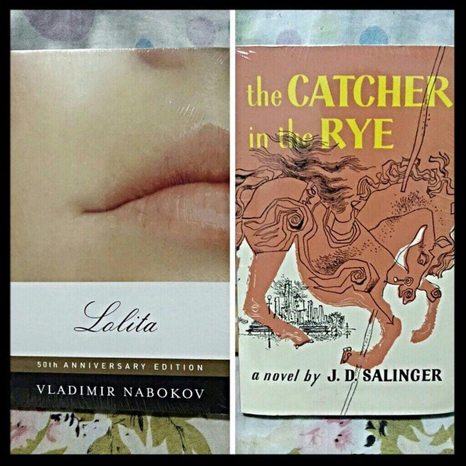 Currently reading Book Lolita Vladimirnabokov Catherintherye Jdsalinger