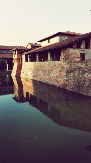 EyeEm Selects Architecture Reflection Built Structure Business Finance And Industry Building Exterior Water Sky Outdoors Day Clear Sky No People EyeEmNewHere The Week On EyeEm Beauty In Nature Springtime Landscape Castle Pagazzano Castle Tranquility Nature Travel Destinations
