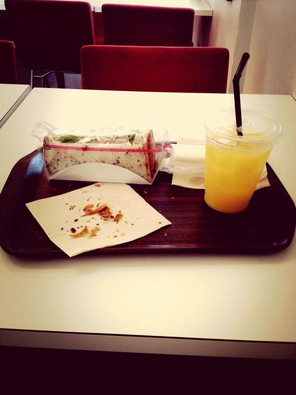 good weather, good tatse :-) Bread