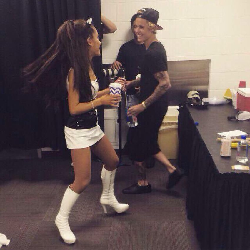 Honeymoon tour☁️ Ariana × justin💜 Ariana  Justin Honeymoon Tour
