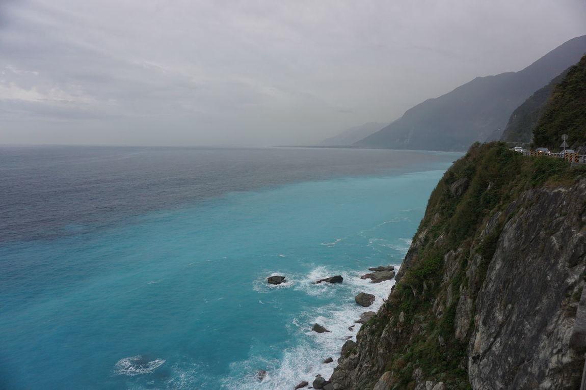 Beach Cliff Hualien Hualien, Taiwan Nature Philippine Sea Sea Sea And Sky Taiwan Taroko National Park
