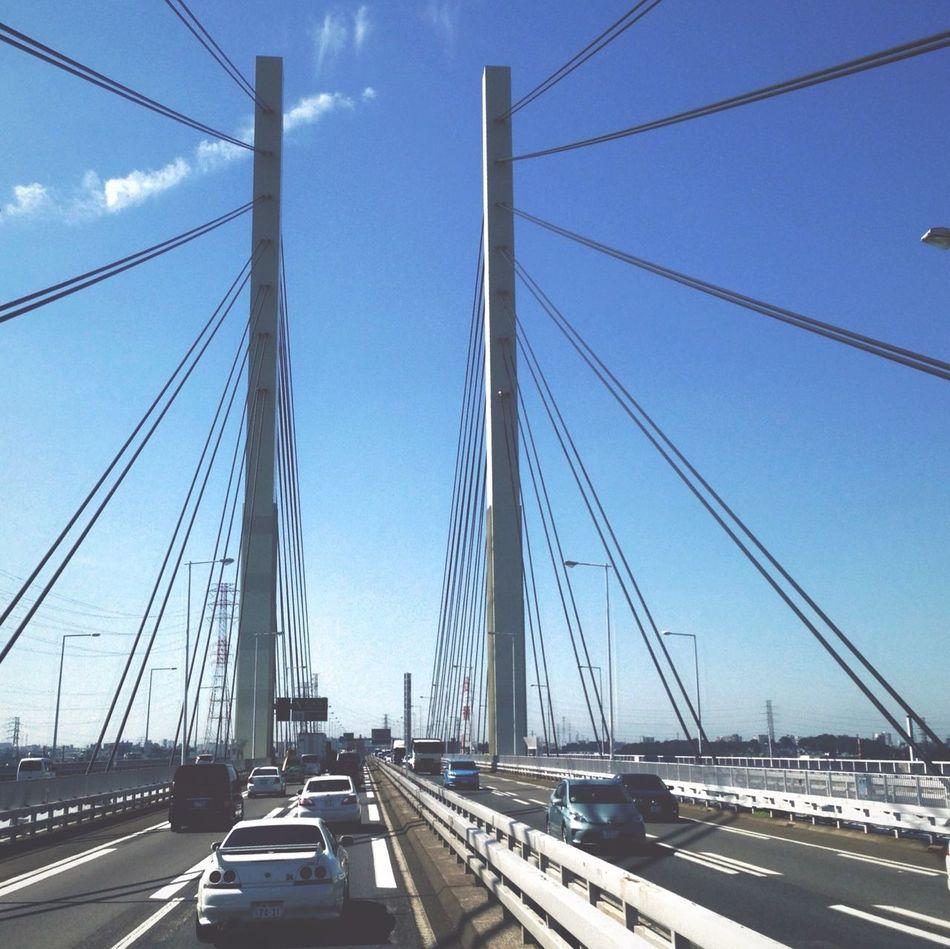 Sunnydays. Bridge Japan Sky_collection Sunny Day